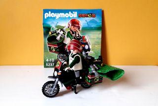 Playmobil moto explorador dino