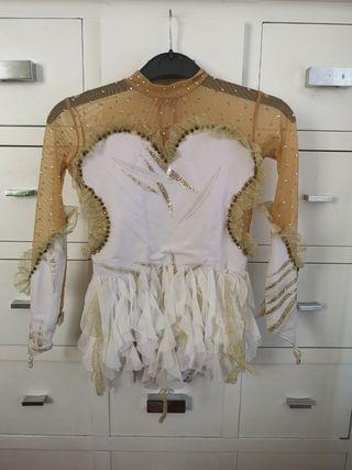 maillot patinaje artístico rítmica ballet, T6