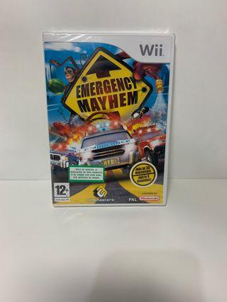 Emergency Mayhem Wii