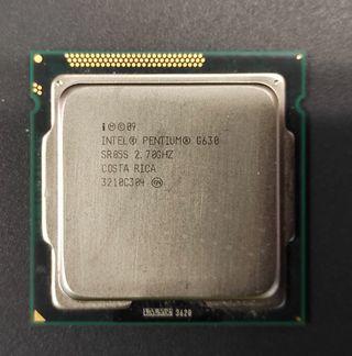 Intel Pentium G630 procesador 2,7 GHz 3 MB Smart C