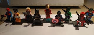 mini LEGOS Marvel