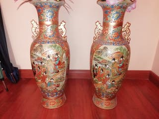 pareja de Jarrones chinos