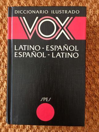 Diccionario bilingüe Latín- Español VOX