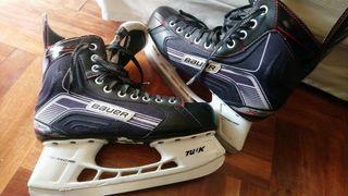 patines hockey hielo Bauer talla 43