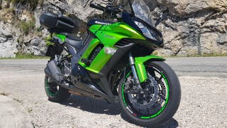 Kawasaki Z1000SX 2011 verde-negro 23500kms