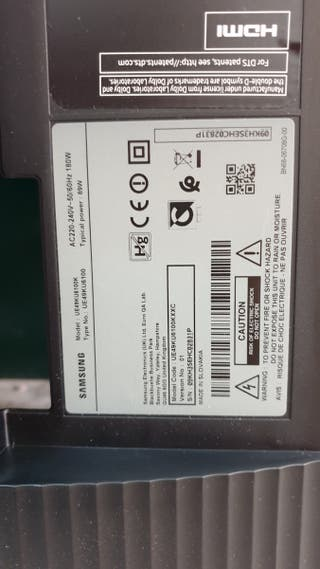 Despiece TV Samsung UE49KU6100