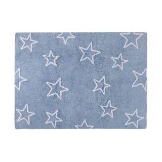 Alfombra azul estrellas Lorena Canals