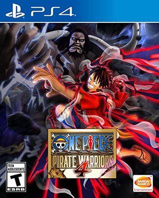 One Piece pírate Warriors 4 ps4