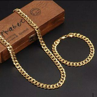 cadena y pulsera de hombre