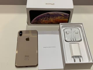 iPhone XS Max gold de 512gb como nuevo Garantia