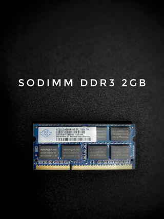 2gB Memoria RAM SODIMM DDR3