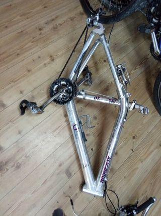 """cuadro bicicleta 26"""" Grisley mega 20"""
