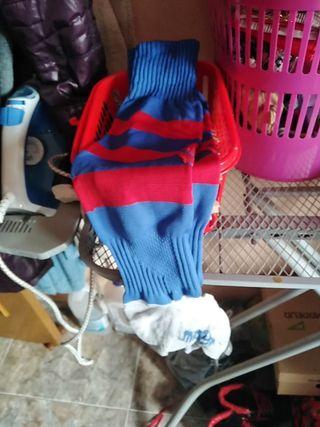 calcetines de fútbol largos talla 40