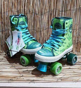 nuevos estrenar patines 4 ruedas unisex