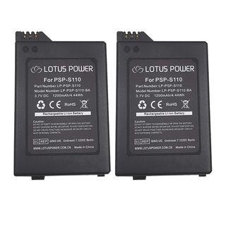 Pack 2 baterías PSP-S110. NUEVAS.