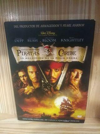 Dvd Piratas del Caribe Gore Verbinski