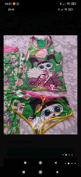 pijama women secret talla M/L, todo por 5€, entreg