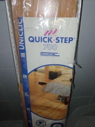 Suelo imitación roble QuickStep