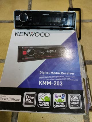 Radio CD, MP3 Kenwood