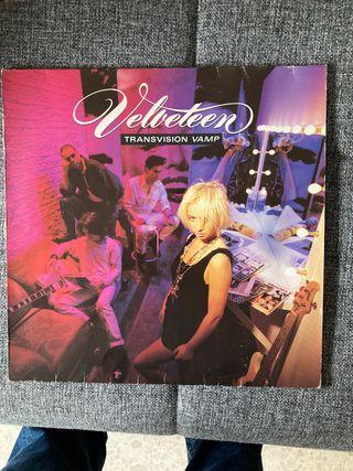 TRANSVISION VAMP. Velveteen. Disco vinilo.