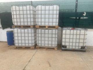 Depósitos agua 1000 litros