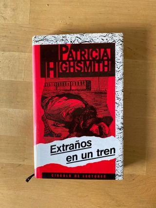 Libro Extraños en un tren de Patricia Highsmith