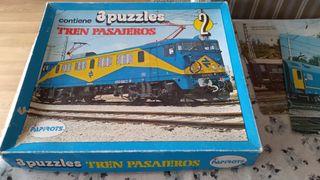 puzzle Papirots trenes renfe