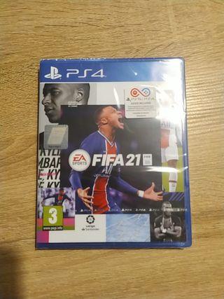 Fifa 21 PS4/PS5 Precintado