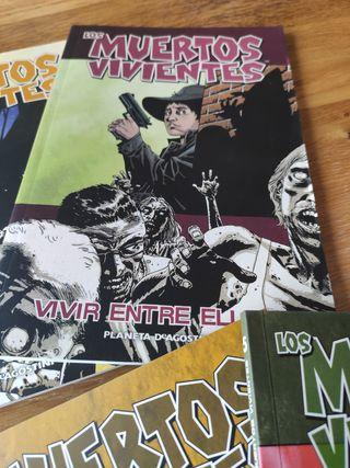 WALKING DEAD cómics tapa blanda 1-12