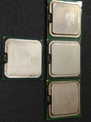Lote de procesadores