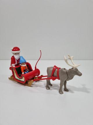Playmobil trineo papa noel