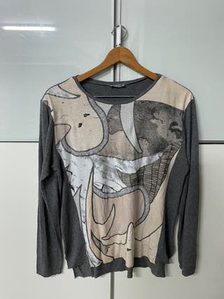 Zara camiseta fantasía talla L