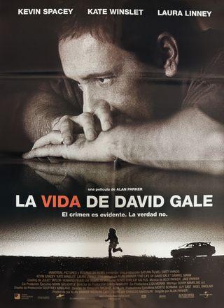PÓSTER LA VIDA DE DAVID GALE