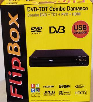 FLIP BOX-DVD+TDT+PVR+HDI+USB GRABADOR- COMBO