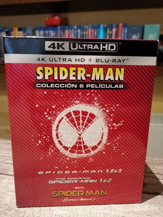 Pack Spiderman Blu-ray