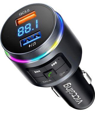 Transmisor FM Bluetooth para coche
