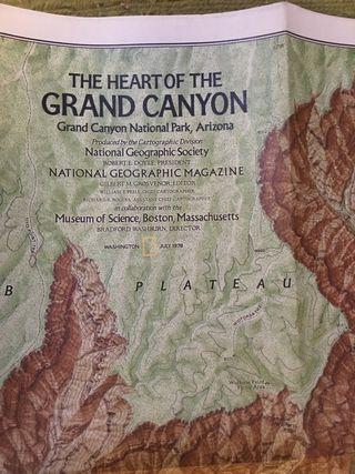 MAPA: THE HEART OF THE GRAND CANYON.
