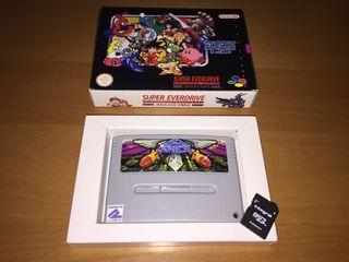 Cartucho original Super Nintendo SD2SNES