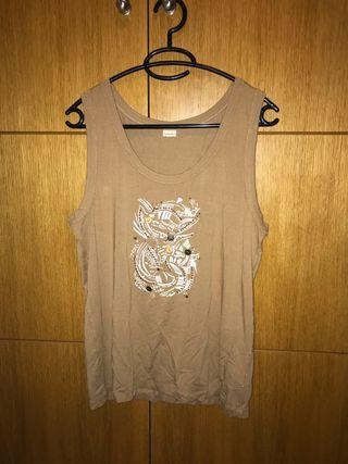 Camiseta tirantes mujer talla 46