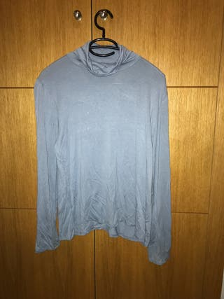 Camiseta mujer manga larga y cuello alto talla 50