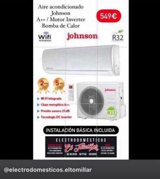 Aire acondicionado JOHNSON A++