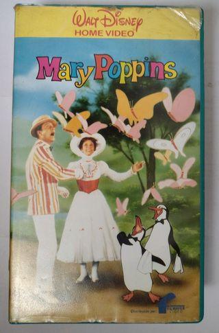 VHS Mary Poppins Black Diamond Disney