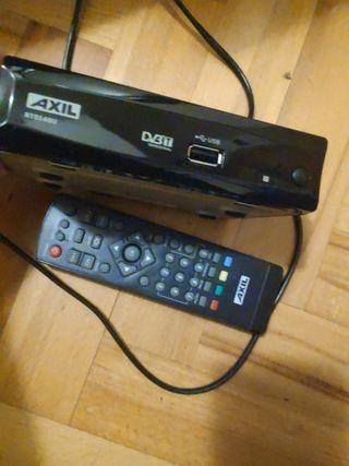 sintonizador/reproductor TDT con USB Axil