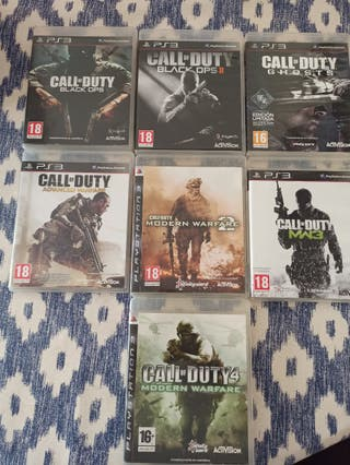 juegos call of duty ps3
