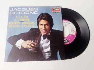 JACQUES DRUTONC SINGLE 7´ A LA VIE A L'AMOUR 1970