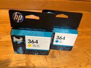Cartuchos tinta HP 364 originales sin abrir