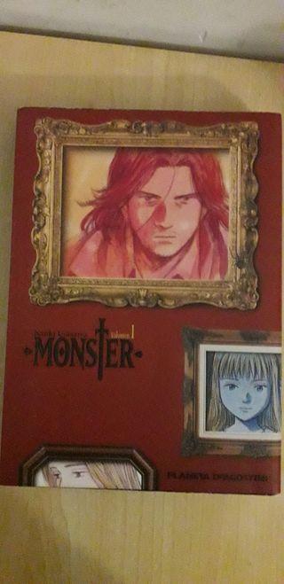 Monster 1-7 Naoki Urasawa