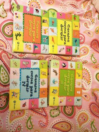Libros Cuentos cortos para dormir I, II, III y IV