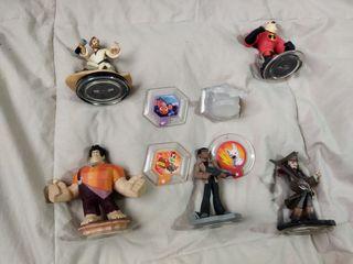 Pack 9 figuras Disney Infinity