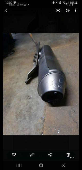 tubo de escape honda dylan 125